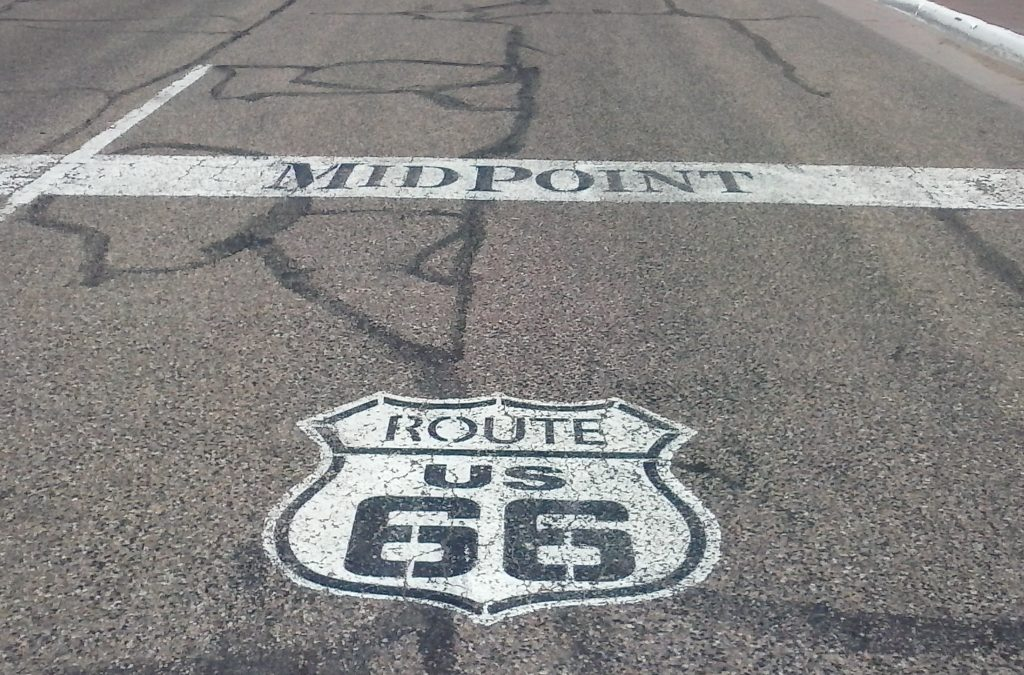 Halfway to L.A. at IDroveTheMotherRoadRoute66