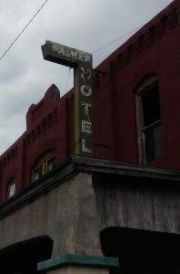 The Palmer Hotel Has Recently Been Air Conditioned