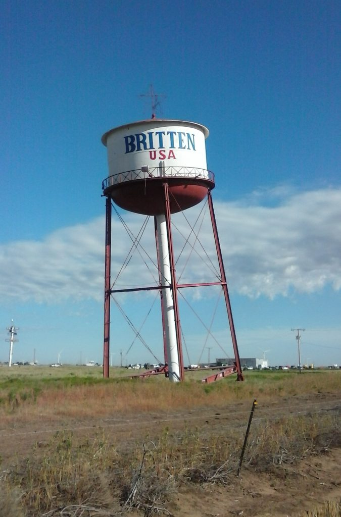 Leaning Tower of Britten TX