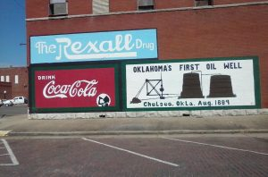 The Fist Oil Well in Oklahoma was in Chelsea - Back When it Was Called Indian Territory