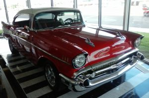 57 Chev at the Museum in Clinton, OK
