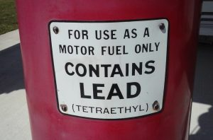 The good ol' days when gas had LEAD and lots of it