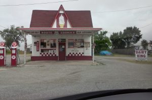 The Dairy KING in Commerce, OK