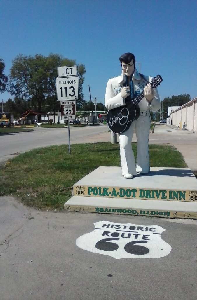 Elvis on 'IDroveTheMotherRoad'