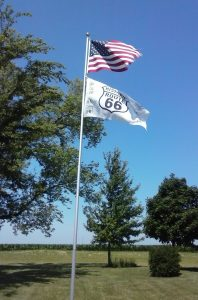 Stars and Stripes in Odell, Illinois