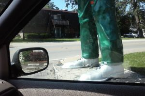 The 'Gemini Giant' Muffler Man FEET