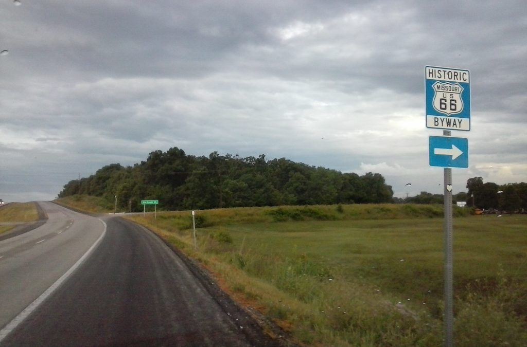 Missouri's Last Exit for Old Route 66 by Buzze A. Long