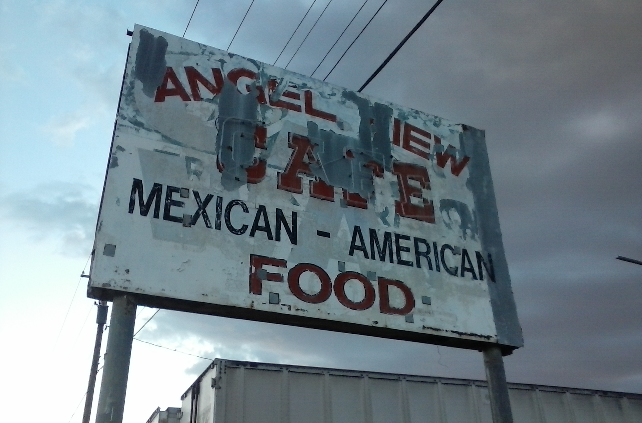 Angel View Cafe on Route 66 West ofd ABQ