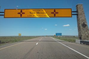 I-40 Route 66 in New Mexico