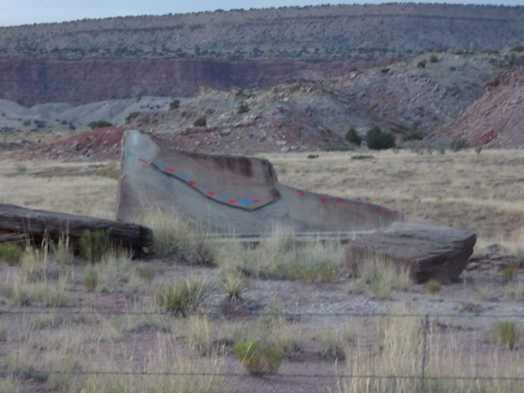 The Moccasin West of ABQ on #IDroveTheMotherRoadRoute66