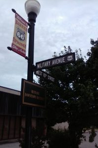 The Mother Road Signage in Baxter Springs