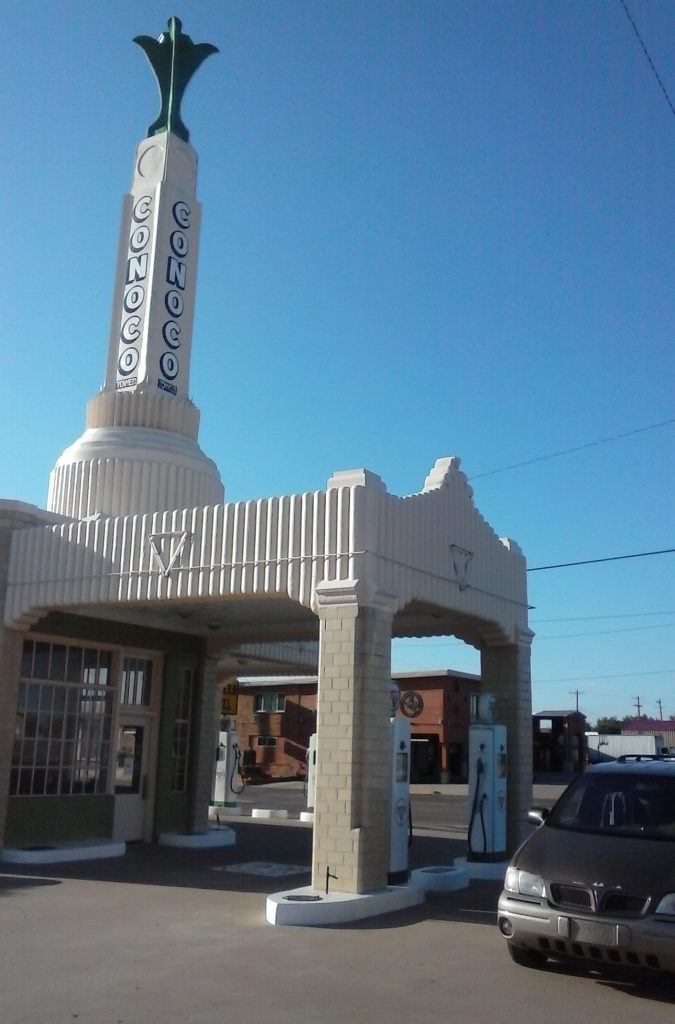 Mystery Montana at the Conoco Tower #IDroveTheMotherRoadRoute66.com