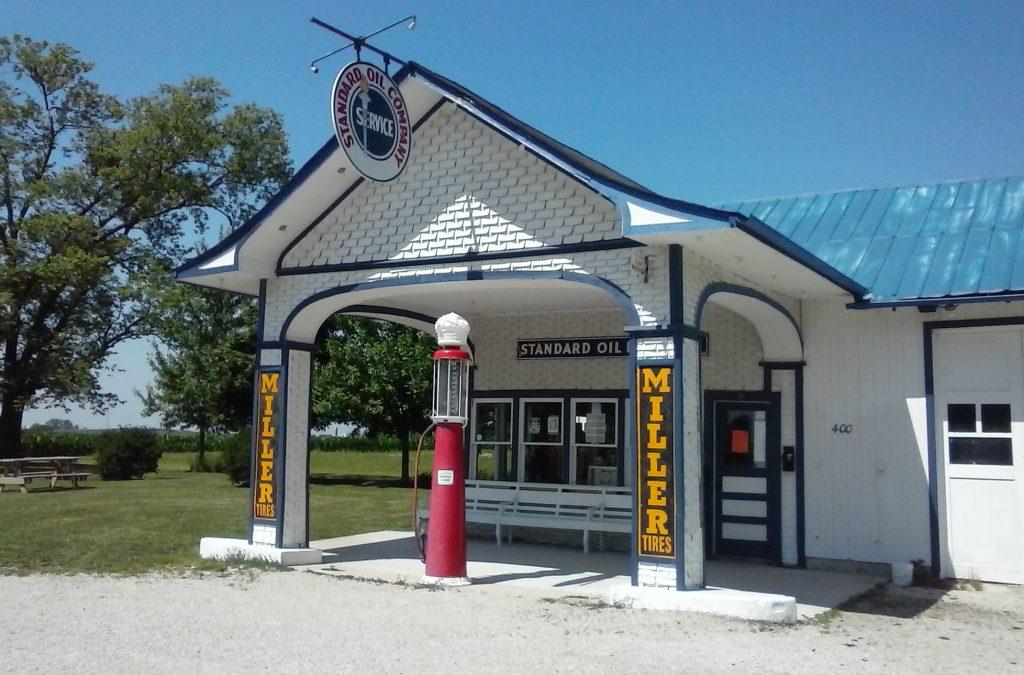 Odell, IL Gas Station #IDroveTheMotherRoadRoute66