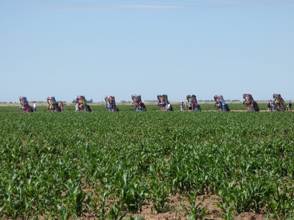 Retire at The Cadillac Ranch on The Mother Road