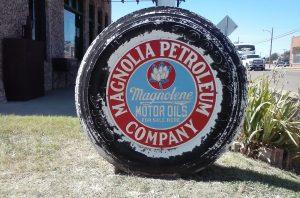 Magnolia Petroleum in Vega Courtesy of #IDroveTheMotherRoadRoute66.com