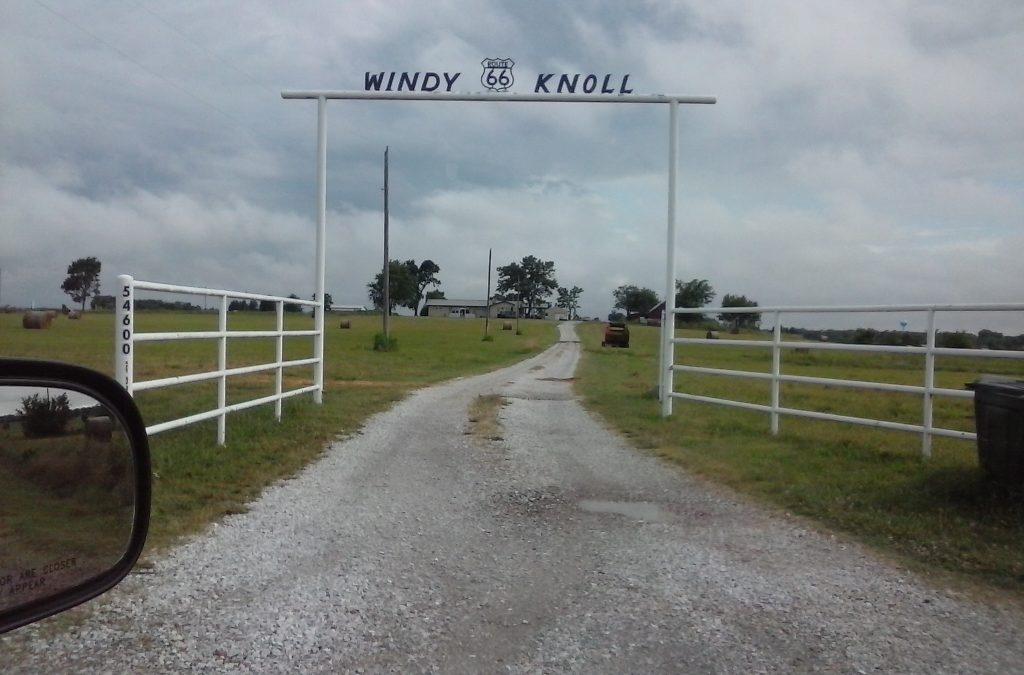 As you go by Windy Knoll, Oklahoma...