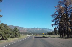 Route 66 Enters Flagstaff, AZ From The East