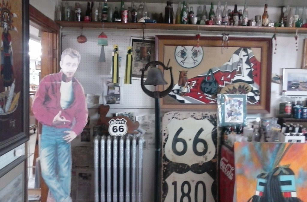 James Dean at Jackrabbit Trading Post, AZ
