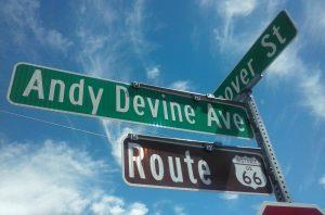 Andy Devine Ave. in Kingman