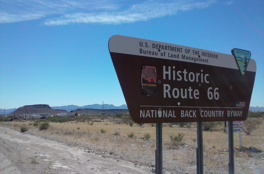 Route 66 Is A Back Country Byway