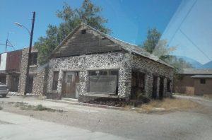 A building in Peach springs, AZ