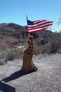 Sitgreaves Pass US Flag