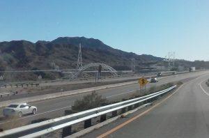 I-40 at Topock, AZ