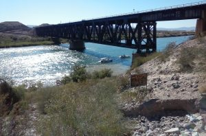 Speedboats on the Colorado River at Topock, AZ