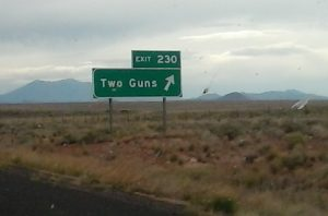 Two Guns by #IDroveTheMotherRoadRoute66