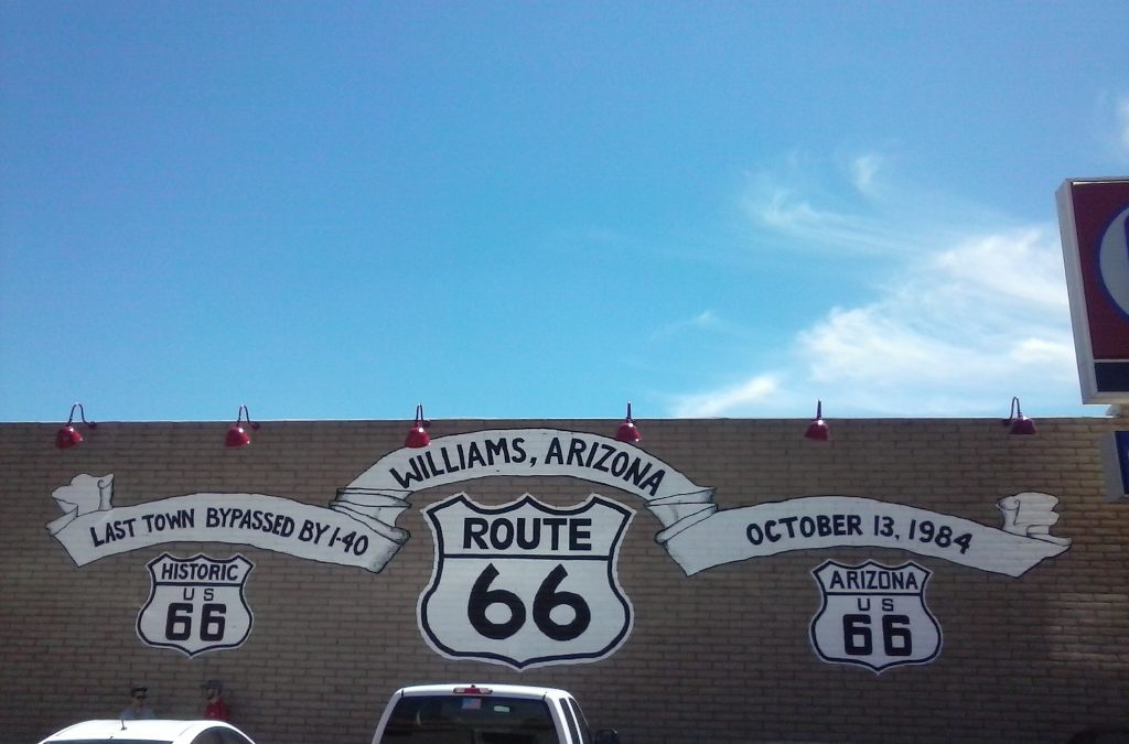 Williams, AZ Bypassed in 1984