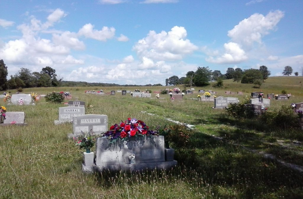 Location Shot of Bado, MO Cemetery