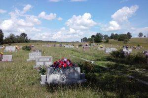Location Shot of Bado, MO Cemetery