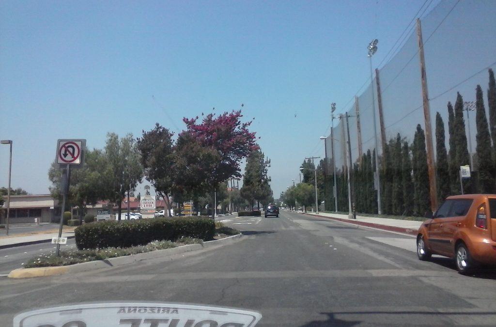 Rote 66, America's Main Street, Travels Through Azusa, CA