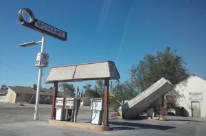 Gas Station in Oro Grande, CA on America's Main Street