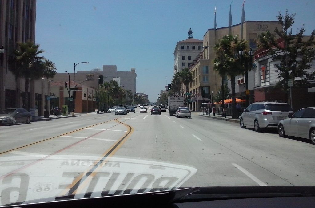 Route 66 in Pasadena