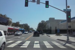 Santa Monica Blvd at Lincoln, Santa Monica, CA