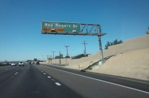 Roy Rogers Drive in Victorville, CA Route 66