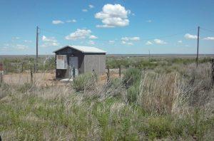 The suburbs of Glenrio, Texas