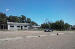 The western suburbs of Glenrio, Texas