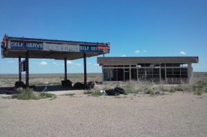 Gas Station in Glenrio, TX by 'Buzze A. Long'