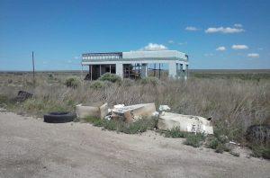 Old Gas Station, I-40, Glenrio, TX