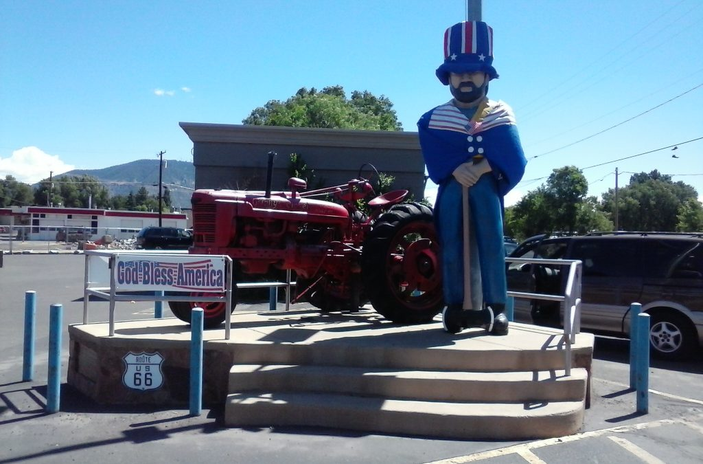 Not A Real Muffler Man on U.S. #Route66